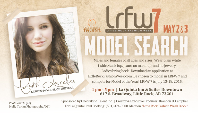 Little Rock Fashion Week Model Search